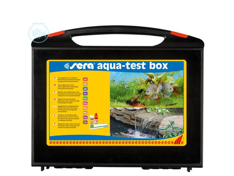 Maletín de test Sera  Aqua Test Box