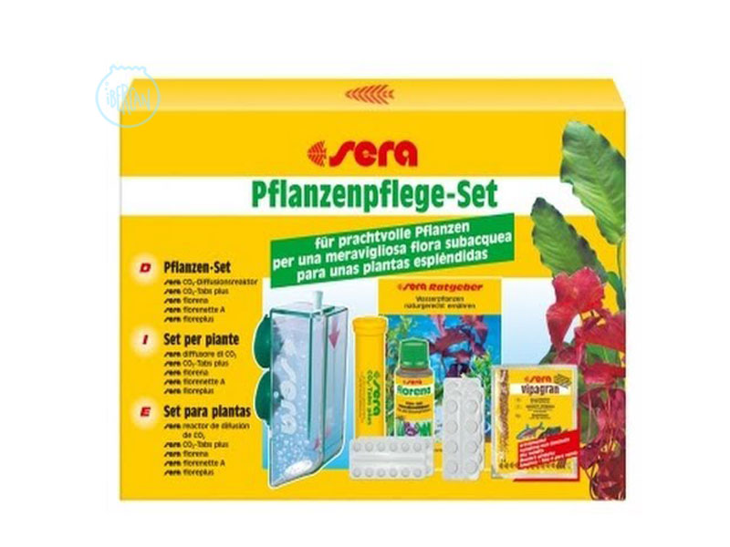 Set completo CO2 para plantas de acuario Sera Plant Care Set Co2