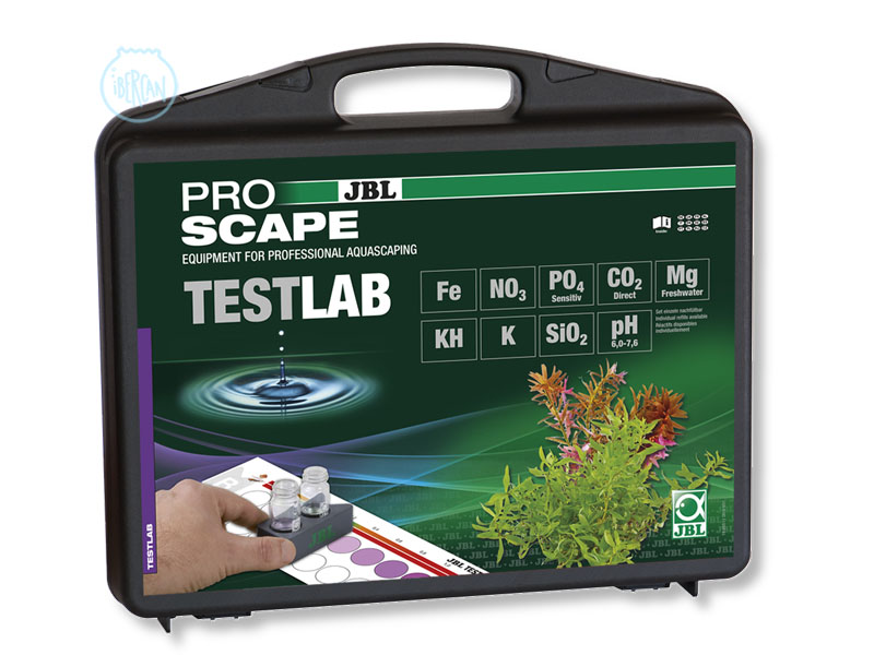 Maletín test para acuarios JBL Testlab ProScape