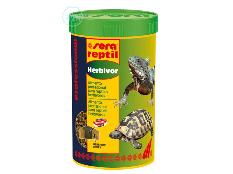 Alimento reptiles herviboros Sera Reptil Herbivor