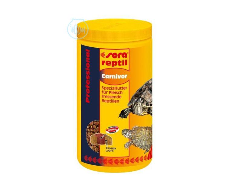 Alimento para reptiles carnívoros Sera Reptil Carnivor