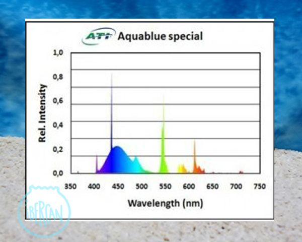 ATI Aquablue Special tubo T5 para acuarios marinos