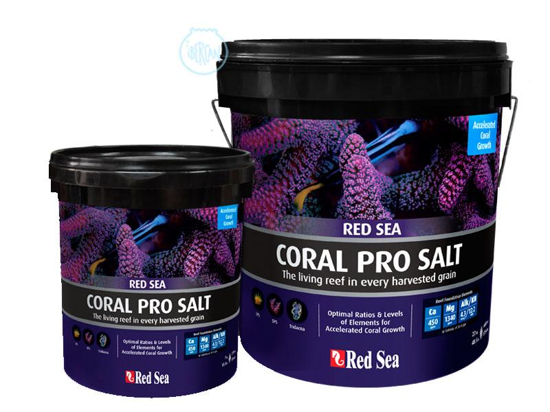 Coral Pro Red Sea Saco sal para acuarios marinos