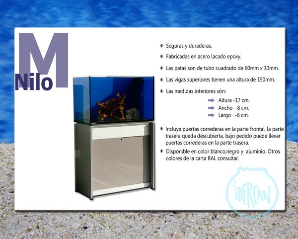 Mesas metálicas económicas para acuarios -