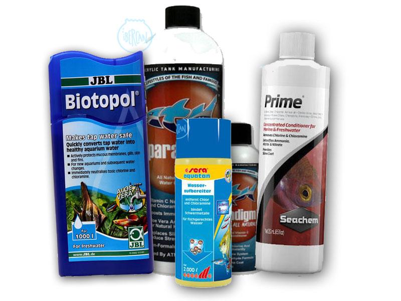 Acondicionadores económicos de agua para acuarios -