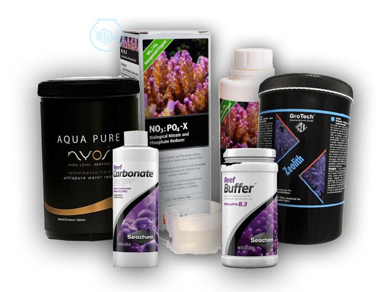 Material filtrante económico para acuarios marinos -
