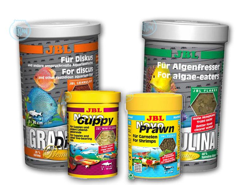 Alimentos y comida para peces JBL -