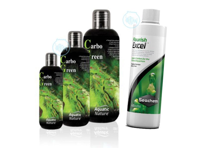 Carbono líquido para acuario económico -