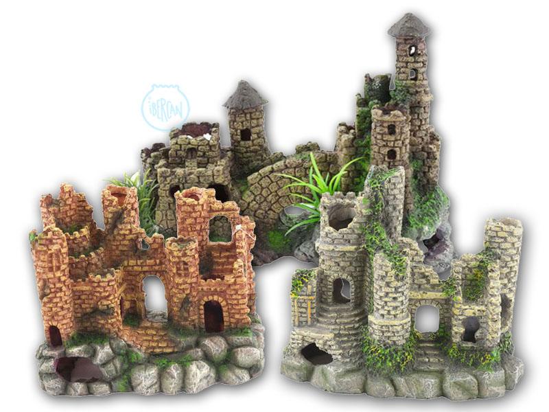 Castillos decoración para acuarios