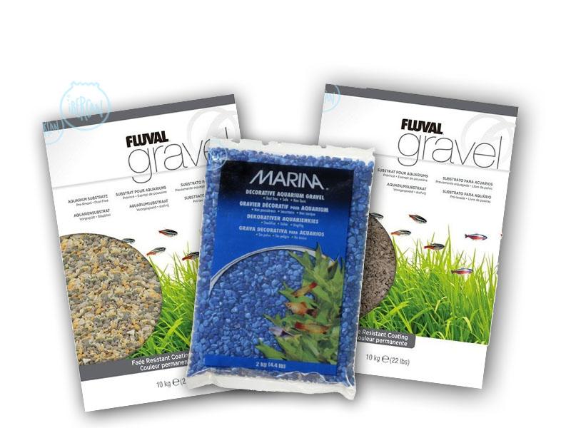 Una amplia gama de colores y tamaños de gravas ara la decoración de tu acuario al mejor precio en .net