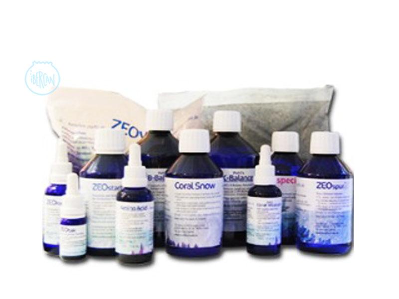 Aquí podrás encontrar los productos para el sistema Zeovit en acuarios marinos