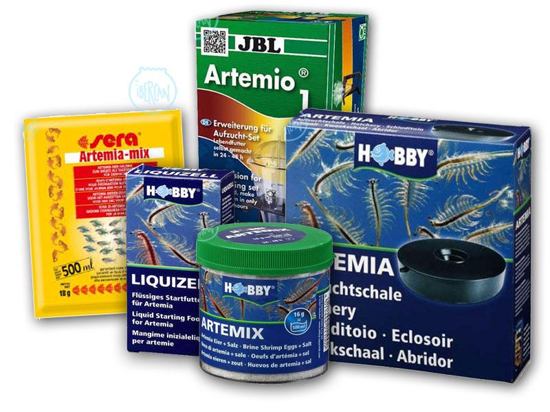 Alimentos y comida para peces de las mejores marcas ibercan for Artemia para peces