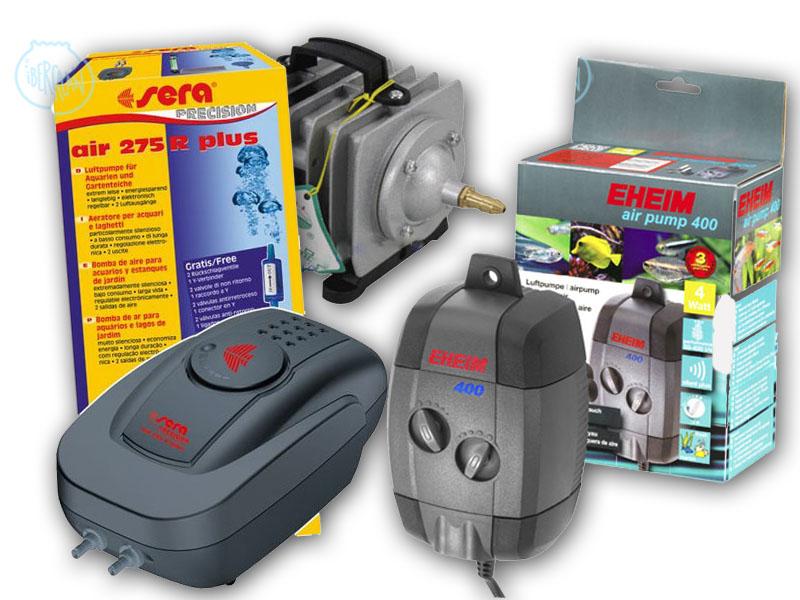 Compresores de aire o aireadores para acuario económicos -