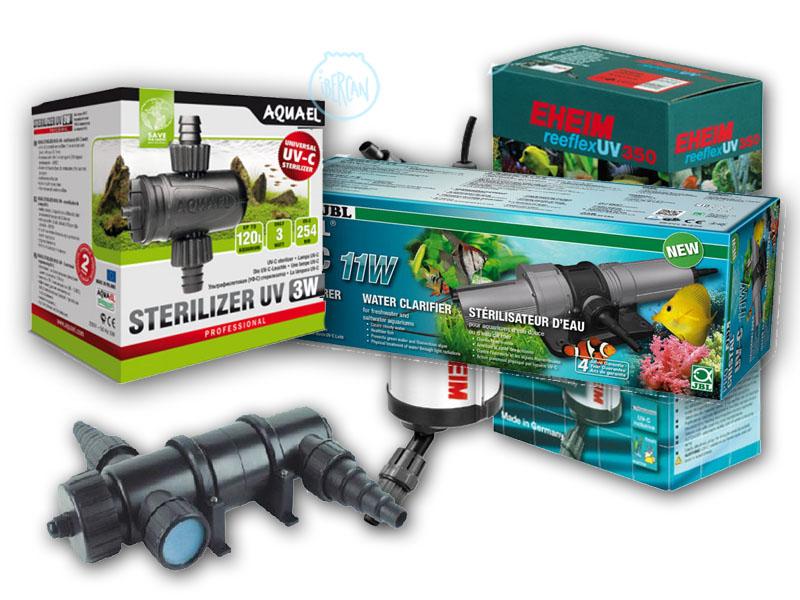 Esterilizadores UV para acuario y estanque económicos -