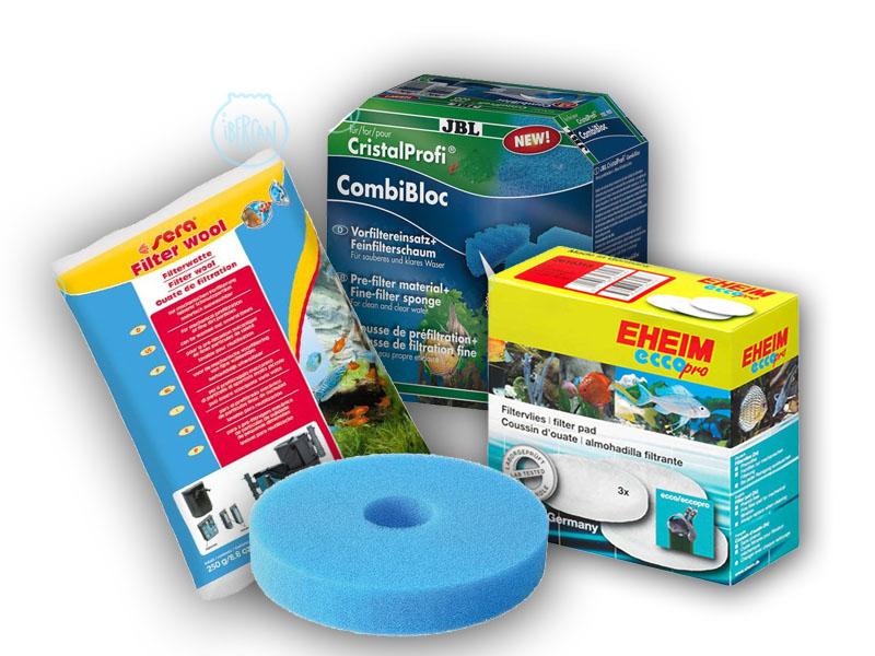 Material filtrante mecánico para filtros de acuario -