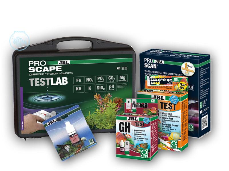 Test de agua JBL para acuarios -