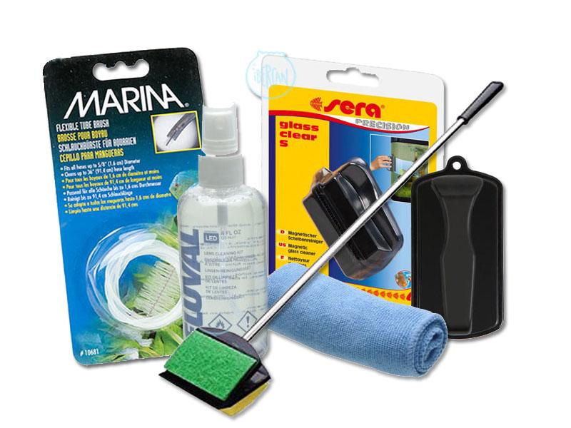 Accesorios de limpieza para acuarios económicos -
