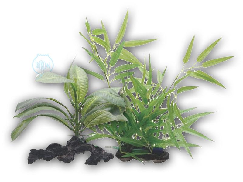 Plantas artificiales para acuario -