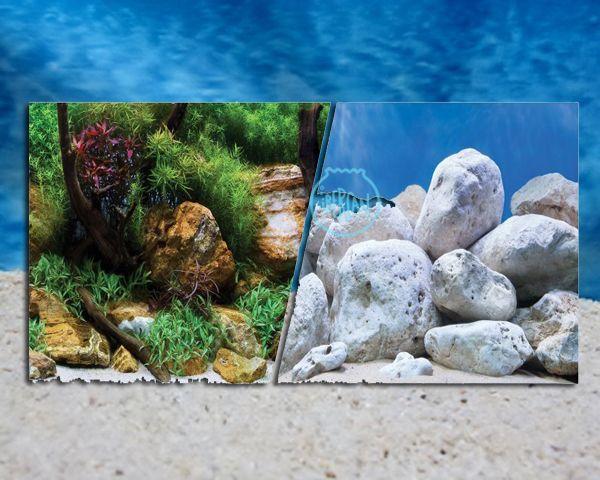 Fondos decorativos para acuario económicos -