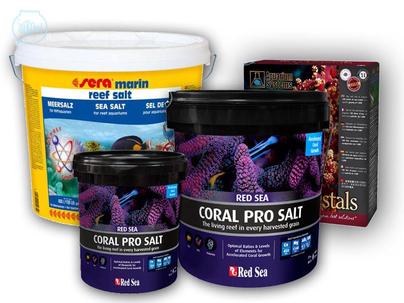Sal para acuarios marinos económica -
