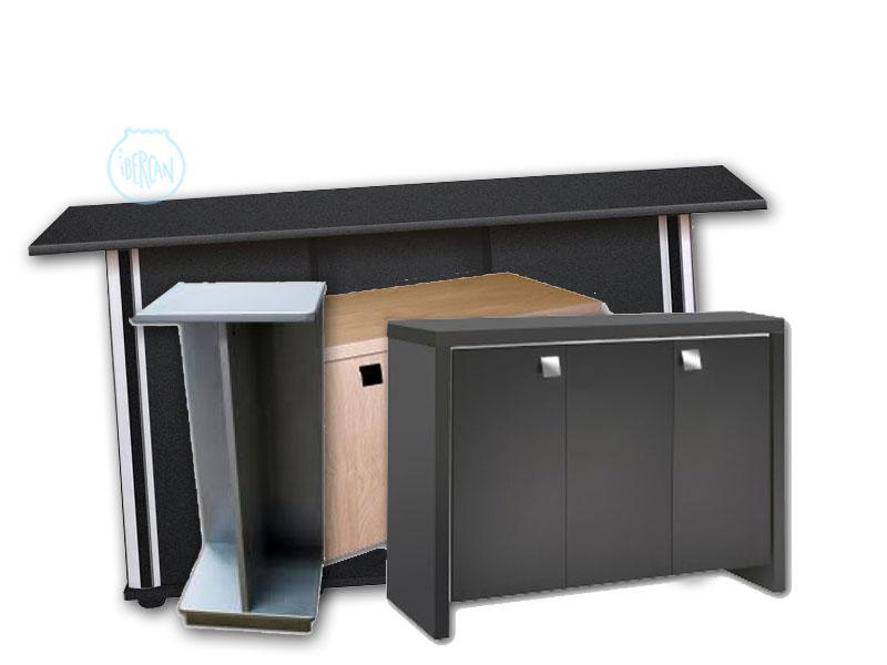 Mesas de madera para acuario económicas -
